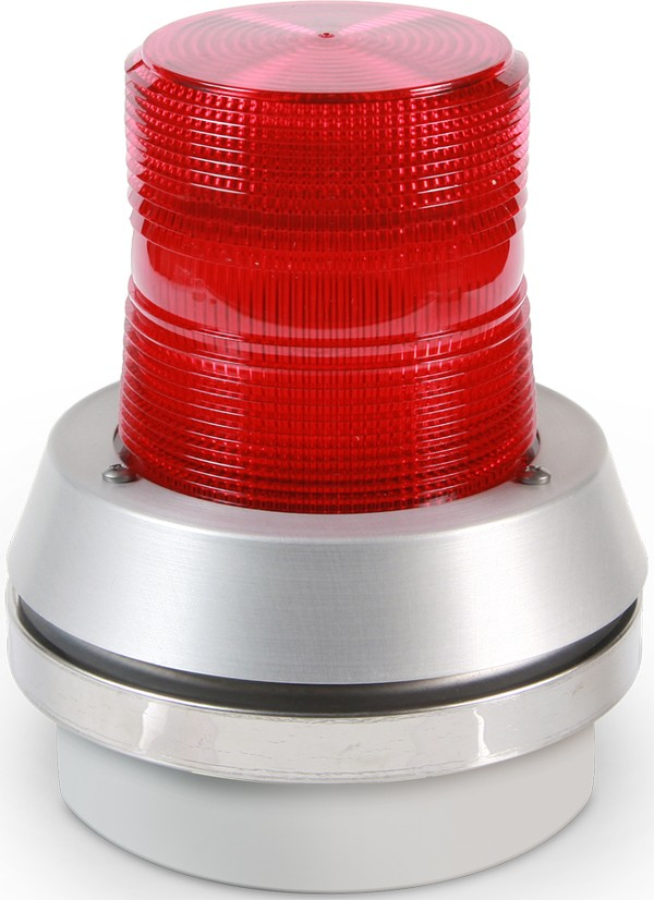 Flashing Red Light >> Edwards Signaling - 95 Series AdaptaBeacon Light Duty ...