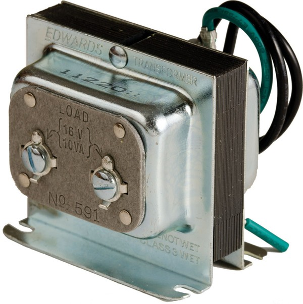 edwards signaling - 590 series class 2 signaling transformers - low voltage  edwards signaling