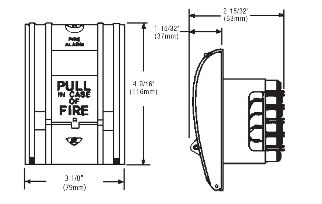 d_270 1 edwards signaling 270 series fire alarm pull stationbreak glass type est smoke detector wiring diagram at edmiracle.co