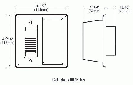 Edwards Signaling 7007B-N5 Buzzer/Strobe Safety Test Kits