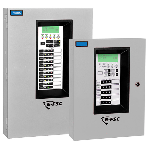 Edwards Signaling E Fsc Series Conventional Fire Alarm Control Panels